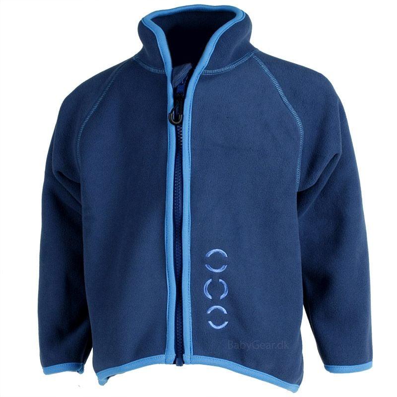 Billede af Fleece trøje fra Mikk-Line - Mørkeblå