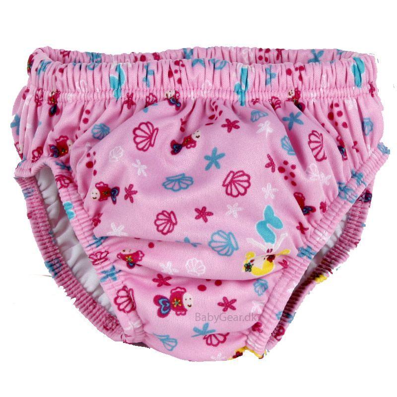 Fashy Badeble fra fashy - lyserød havfrue på babygear.dk