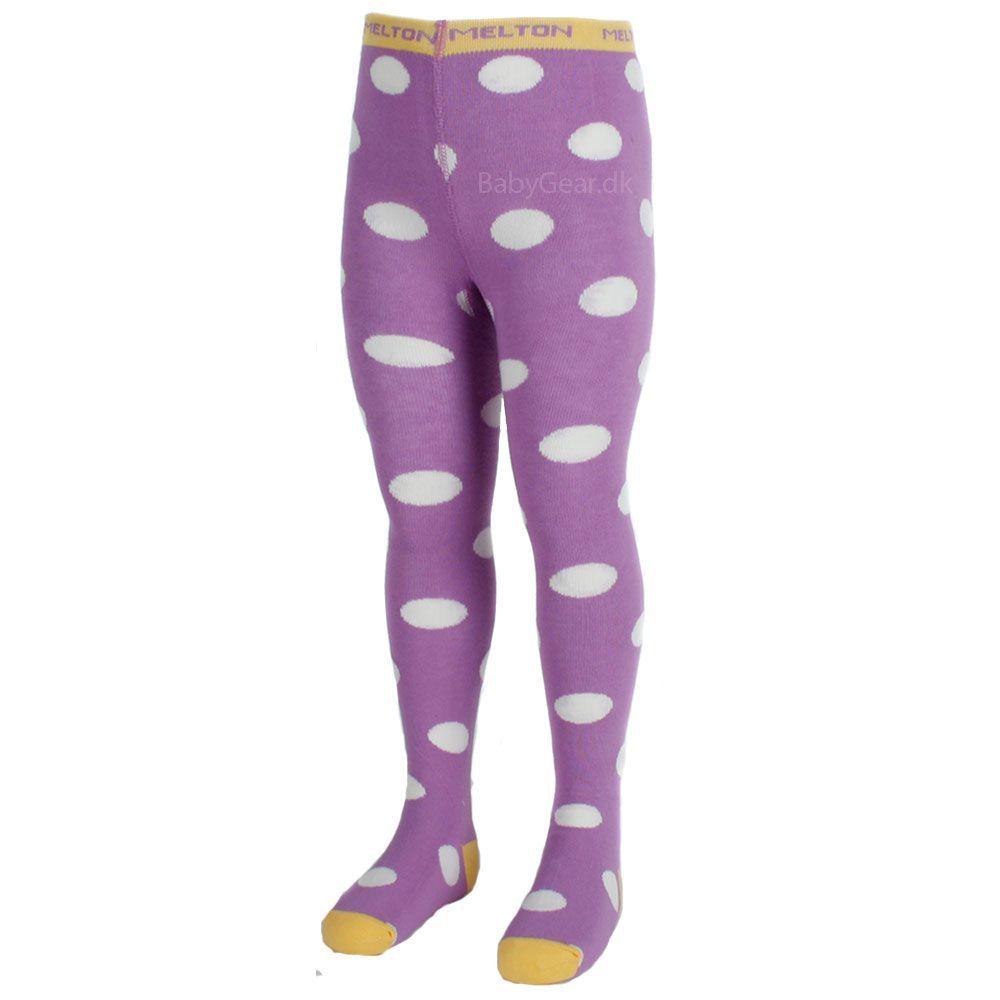 Strømpebukser fra Melton - Bubbly Lavendel