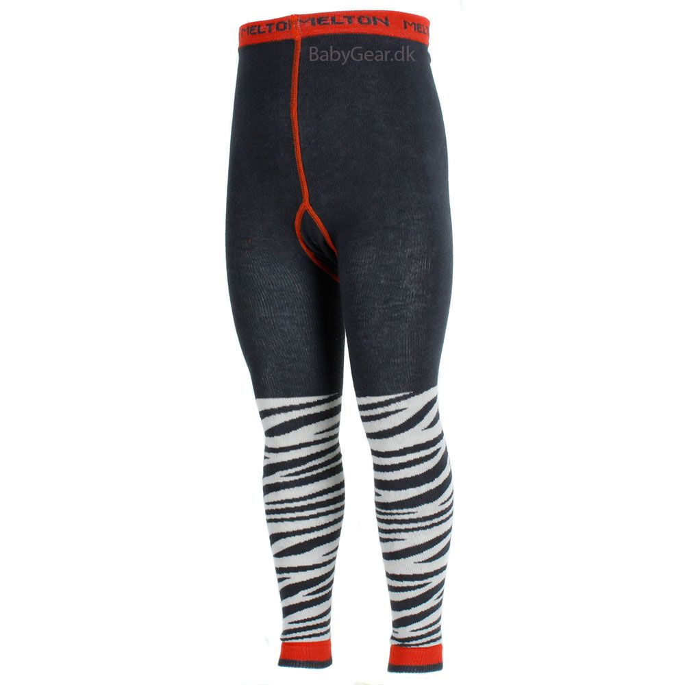 Image of   Leggings fra Melton - Zebra