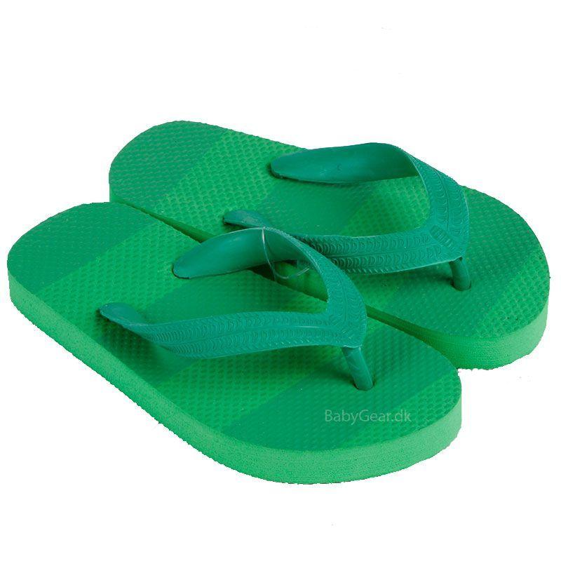 Mikk-line Klip klap sko fra mikk-line - grøn fra babygear.dk