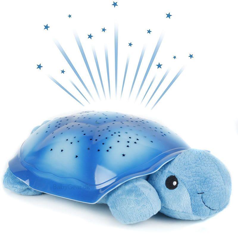 Image of Natlampe fra Cloud b - Twilight Turtle - Turkis (872354007215)
