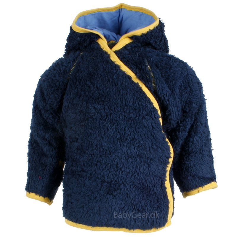 Image of   Fleece jakke fra Pippi - teddy fleece - Navy