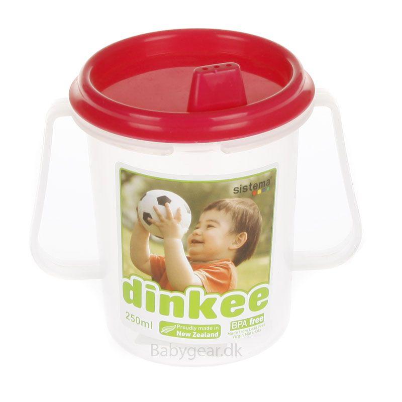 Image of   Dinkee drikkekop m. tud - Ass. pige