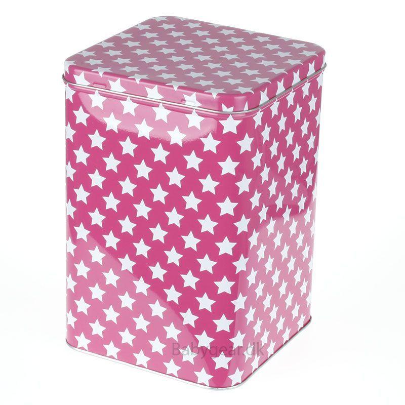 Image of Metaldåse fra Smallstuff - Pink (7700x-09)