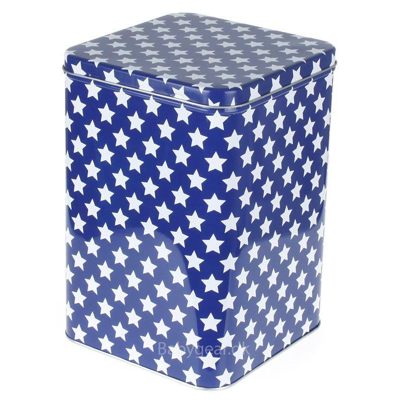 Billede af Metaldåse fra Smallstuff - Cobolt blå
