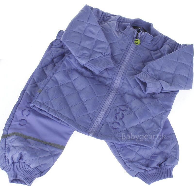 Image of   Termotøj uden fleece fra Mikk-Line - Blå violet