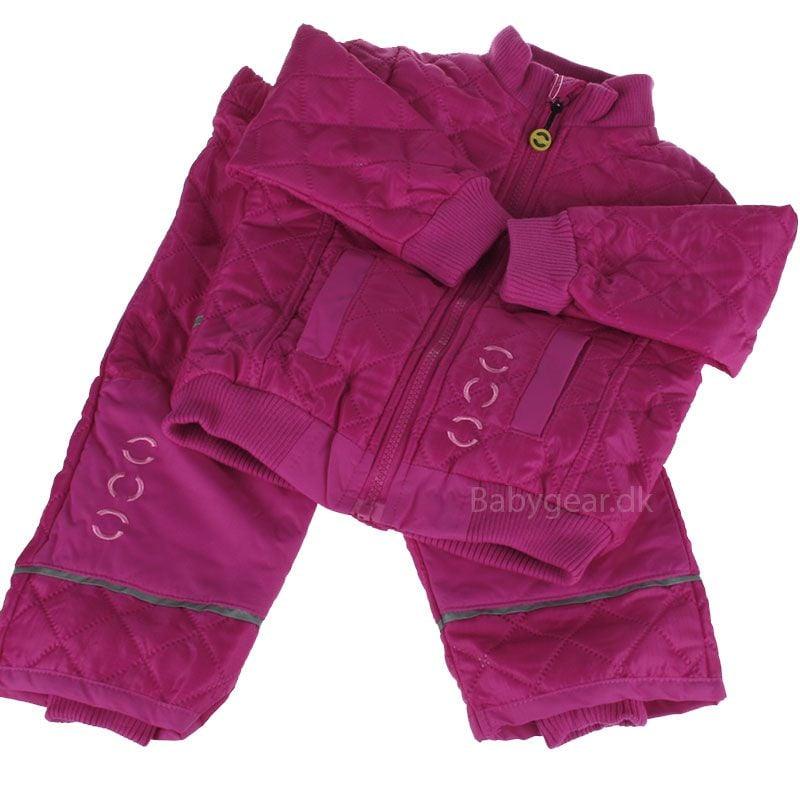 Image of   Termotøj med fleece fra Mikk-Line - Hot Pink