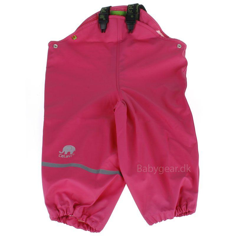 Regnbukser fra CeLaVi - Pink
