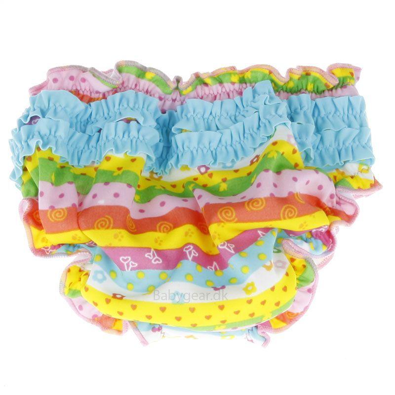 Image of   Badeble fra Fashy - Multi-striber med frynser