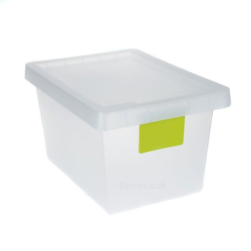 Opbevaringskasse 12 L - TagStore - Lime Tag