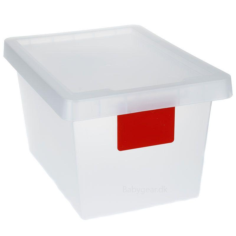 Opbevaringskasse 50L m. hjul - TagStore - Rødt Tag