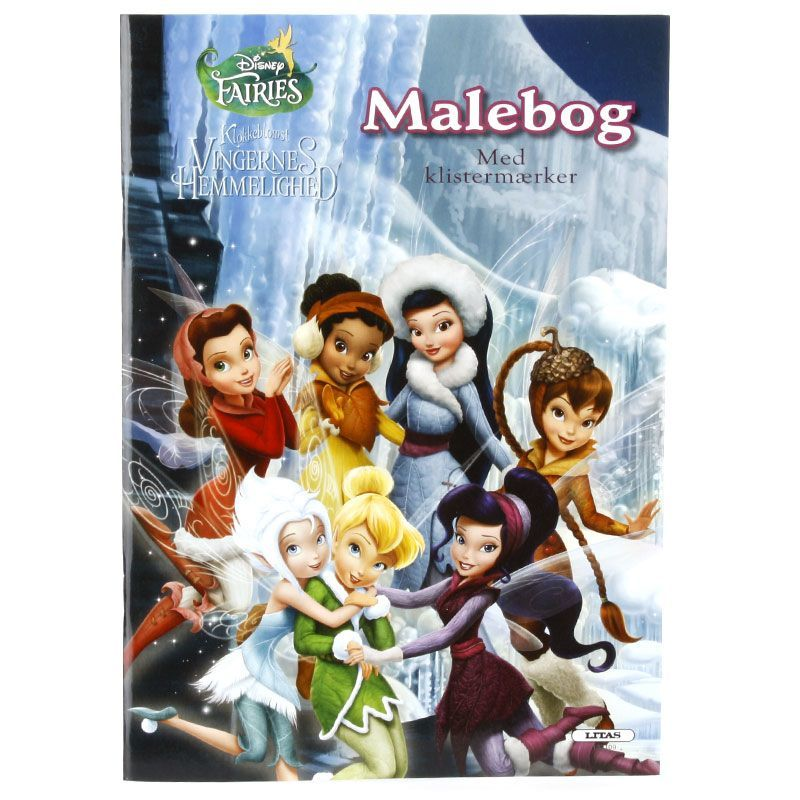 Image of   Malebog med klistermærker - Disney Fairies - Klokkeblomst