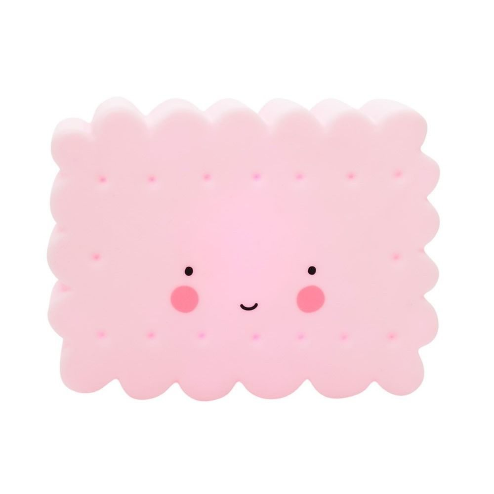 Image of   LED lampe fra A Little Lovely Company - Mini Cookie Pink