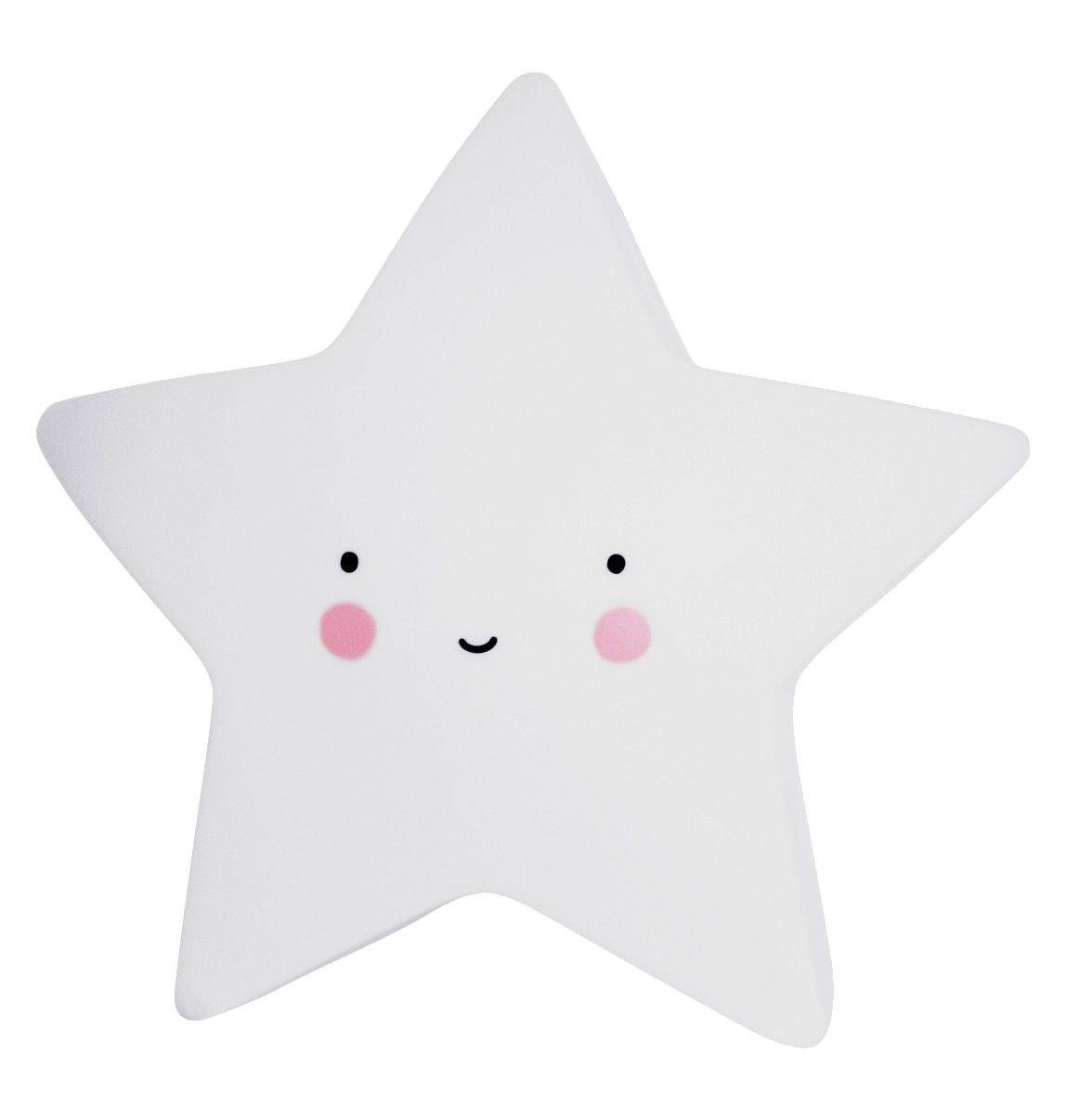 Image of   LED lampe fra A Little Lovely Company - Mini Star White