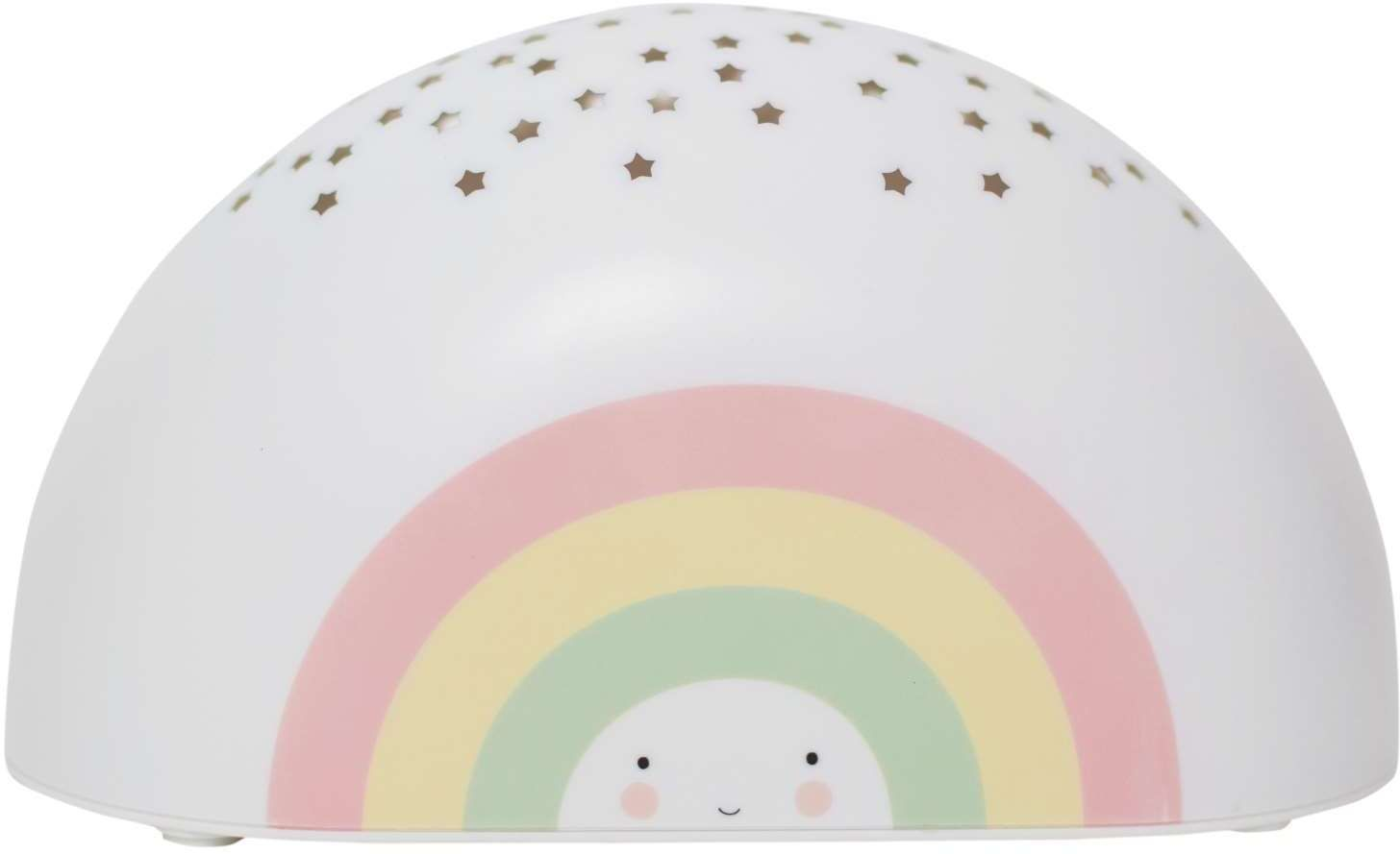 Image of   Natlampe fra A Little Lovely Company - m. musik - Rainbow Projector