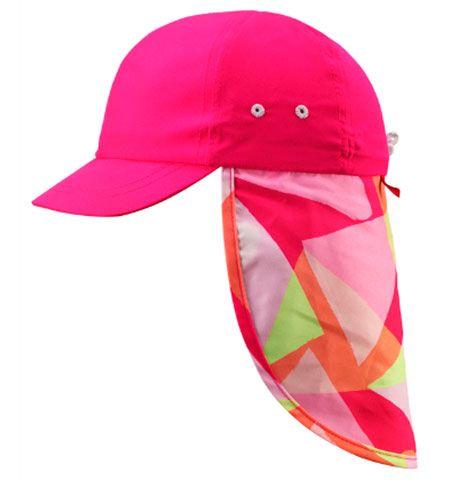 Image of   Legionærhat fra Reima - Alytos - Pink Splash (UV50+)