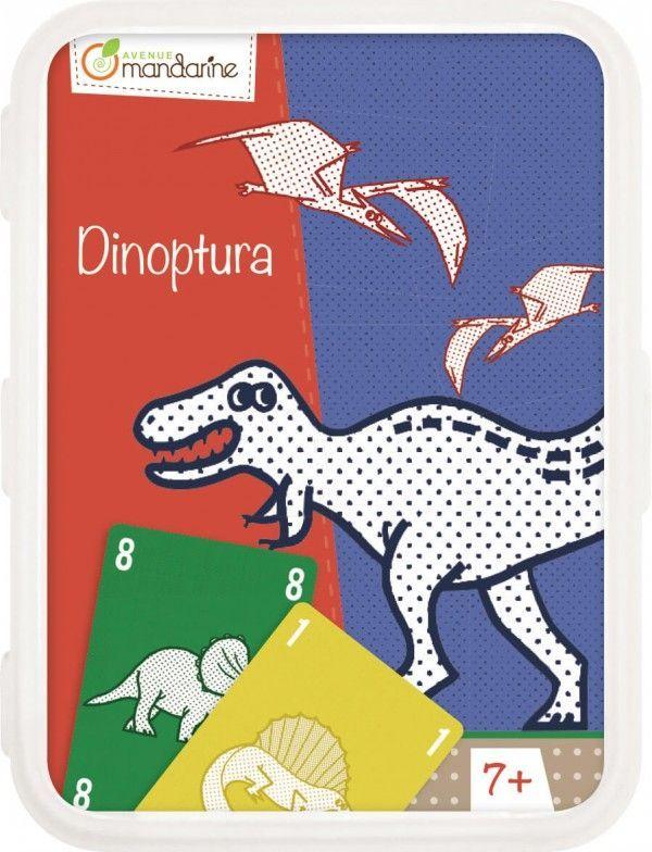 Image of Kortspil fra Avenue Manderine - Dinoptura (7+) (AM-CO107O)