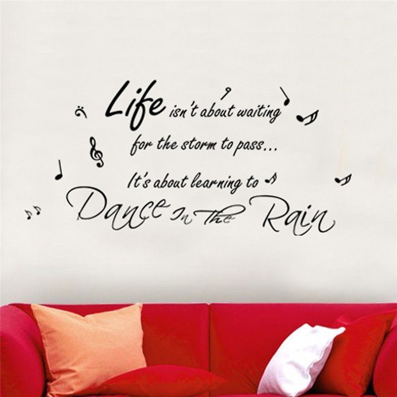 Image of   Wall sticker - Dans i The Rain