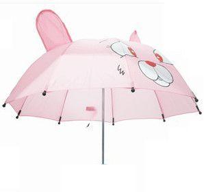First steps – Paraply til børn med sødt motiv - kanin på babygear.dk
