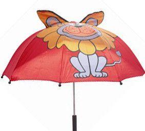 First steps – Paraply til børn med sødt motiv - løve fra babygear.dk
