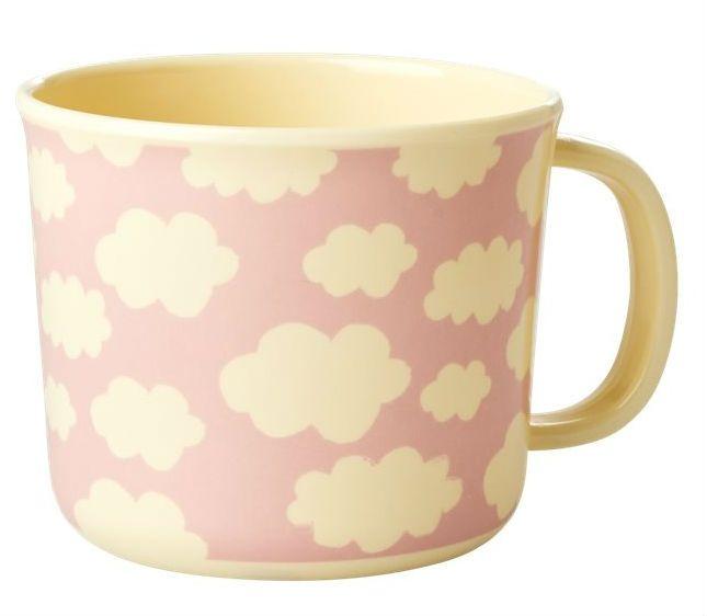 Image of Kop m. hank fra RICE - Melamin - Cloud pink (BABCU-CLOUDI)