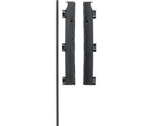Image of Flex vægbeslag fra Babydan - Wall Mounting Kit - Sort (4856-2600-13)