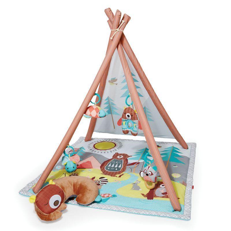 Image of   Aktivitetstæppe fra Skip Hop - Camping Cubs
