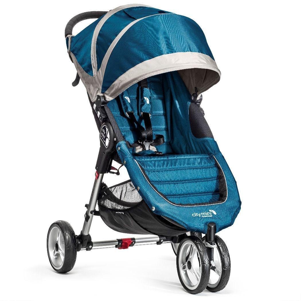 Klapvogn fra Baby Jogger - City Mini - Petrolium