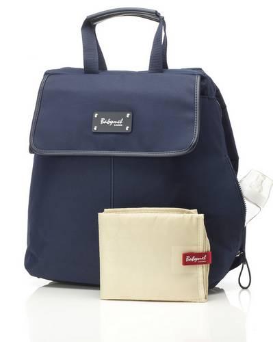 Image of   Pusletaske Backpack fra Babymel - Harlow - Navy