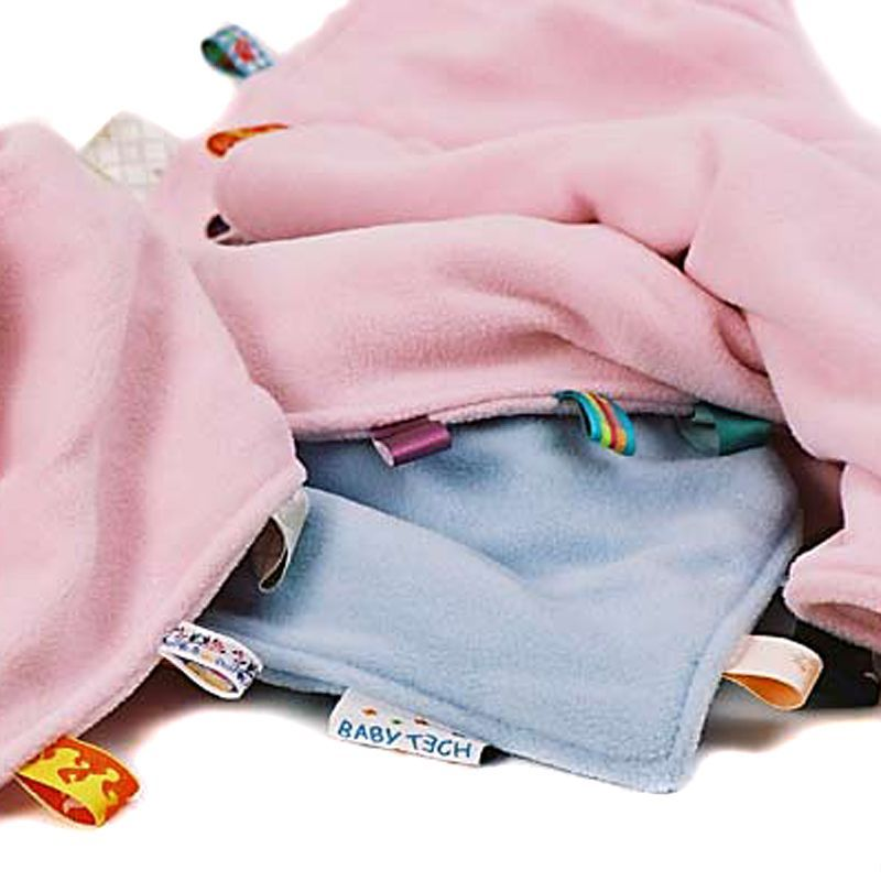 Babytæppe eller nusseklud fra Babytech - Brun