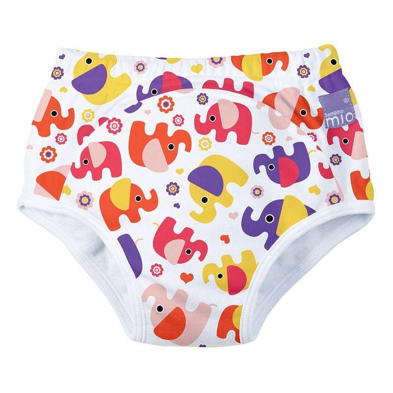 Image of   Pottetræning bukser fra Bambino Mio - Training pants - Elefanter