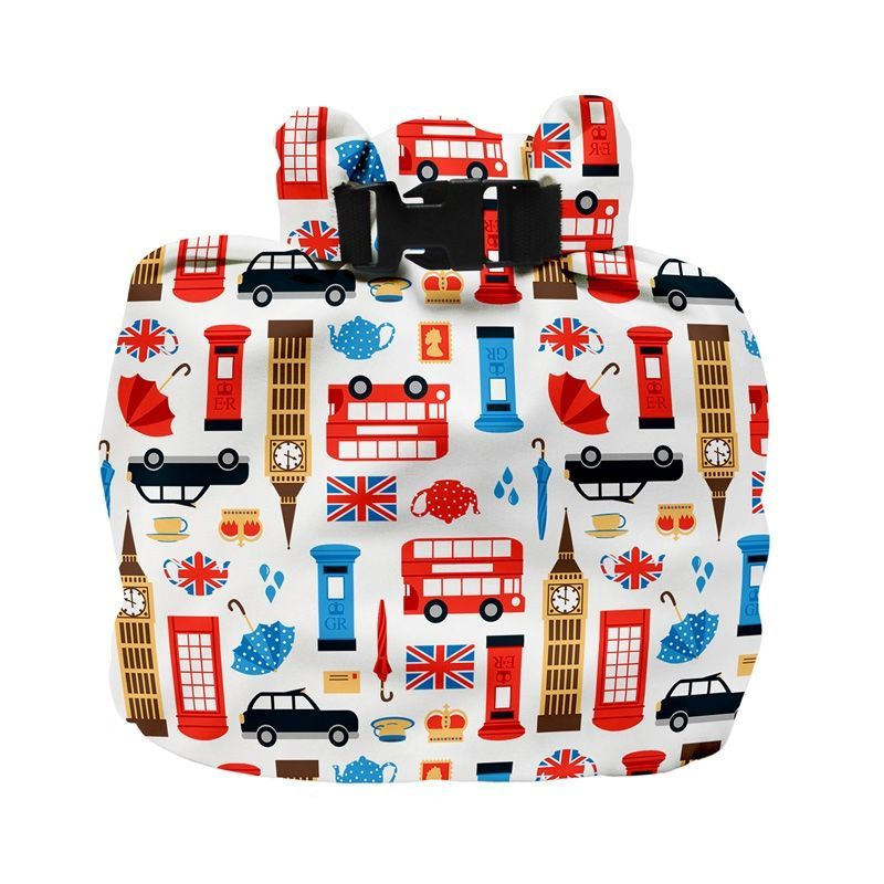 Image of Vådrumspose fra Bambino Mio - Wet Nappy Bag - Great Britain (BMO-ACC01-GBR)