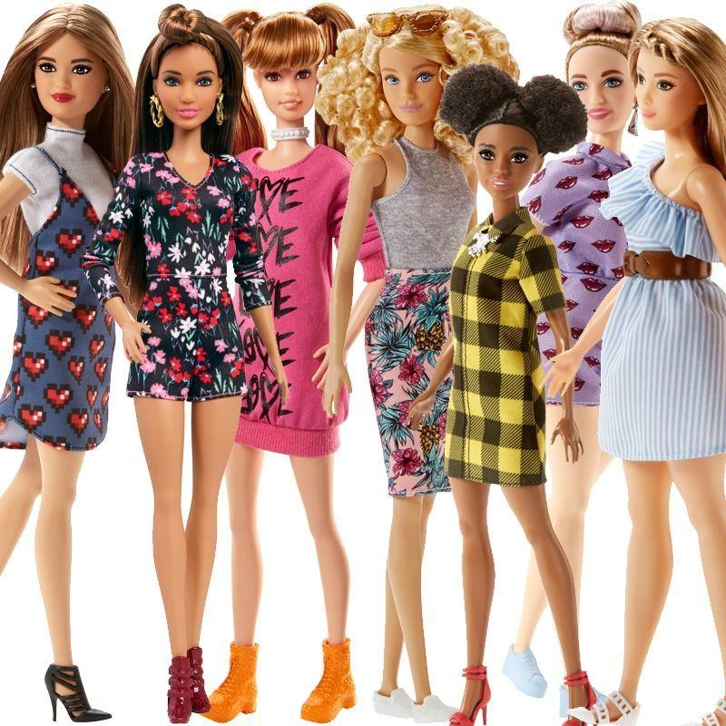 Image of Barbie Fashionista (1 stk) (BBE-TOY15)