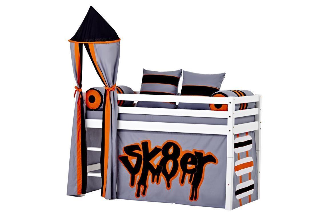 Billede af Tårn fra Hoppekids til halvhøj seng eller Køjeseng - Skater