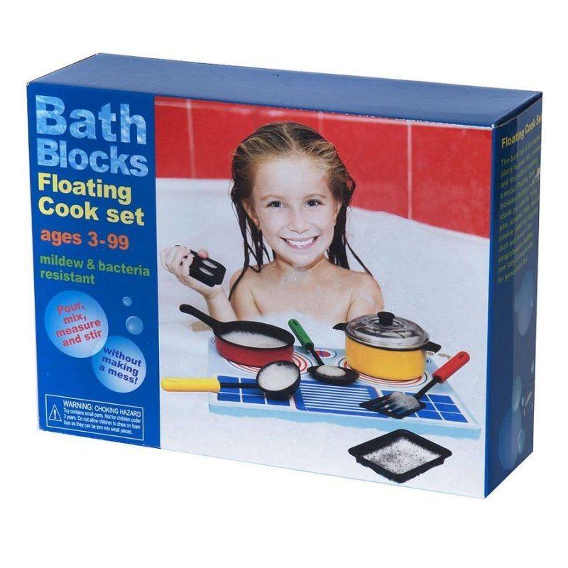 Image of   BathBlocks - Flydende Madlavningssæt - Floating Cook Set
