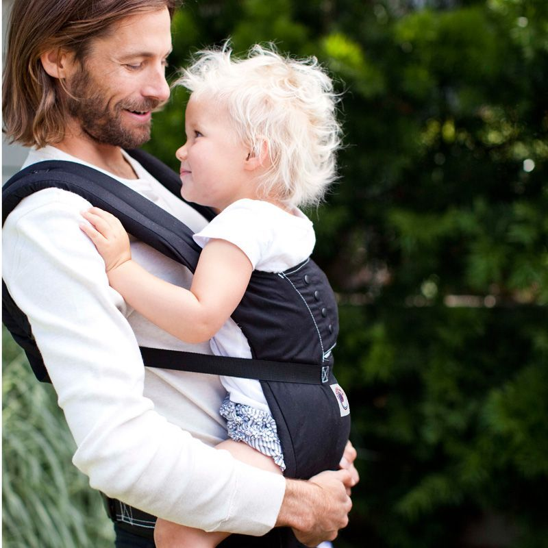 Image of ERGObaby bæresele - Sport Carrier™ - Black (8451970120113)