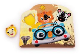 Image of   Friendly Safari Faces Træ puslespil fra Baby Einstein