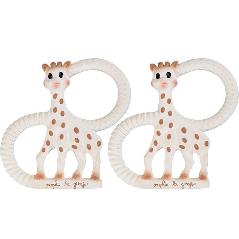 Vulli Bidedyr sophie giraf fra vulli - soft og very soft (2 stk) på babygear.dk