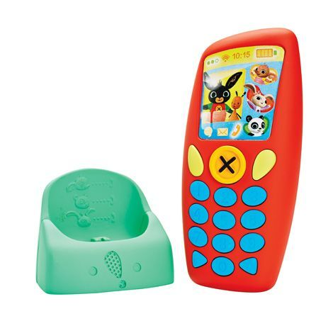 Image of   Telefon m. højtaler fra Fisher-Price - Bings Phone