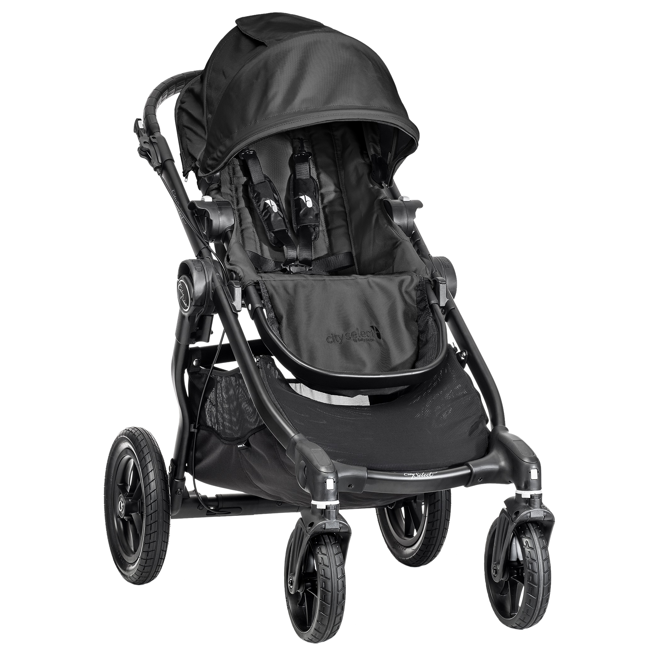 Klapvogn fra Baby Jogger - City Select - Sort