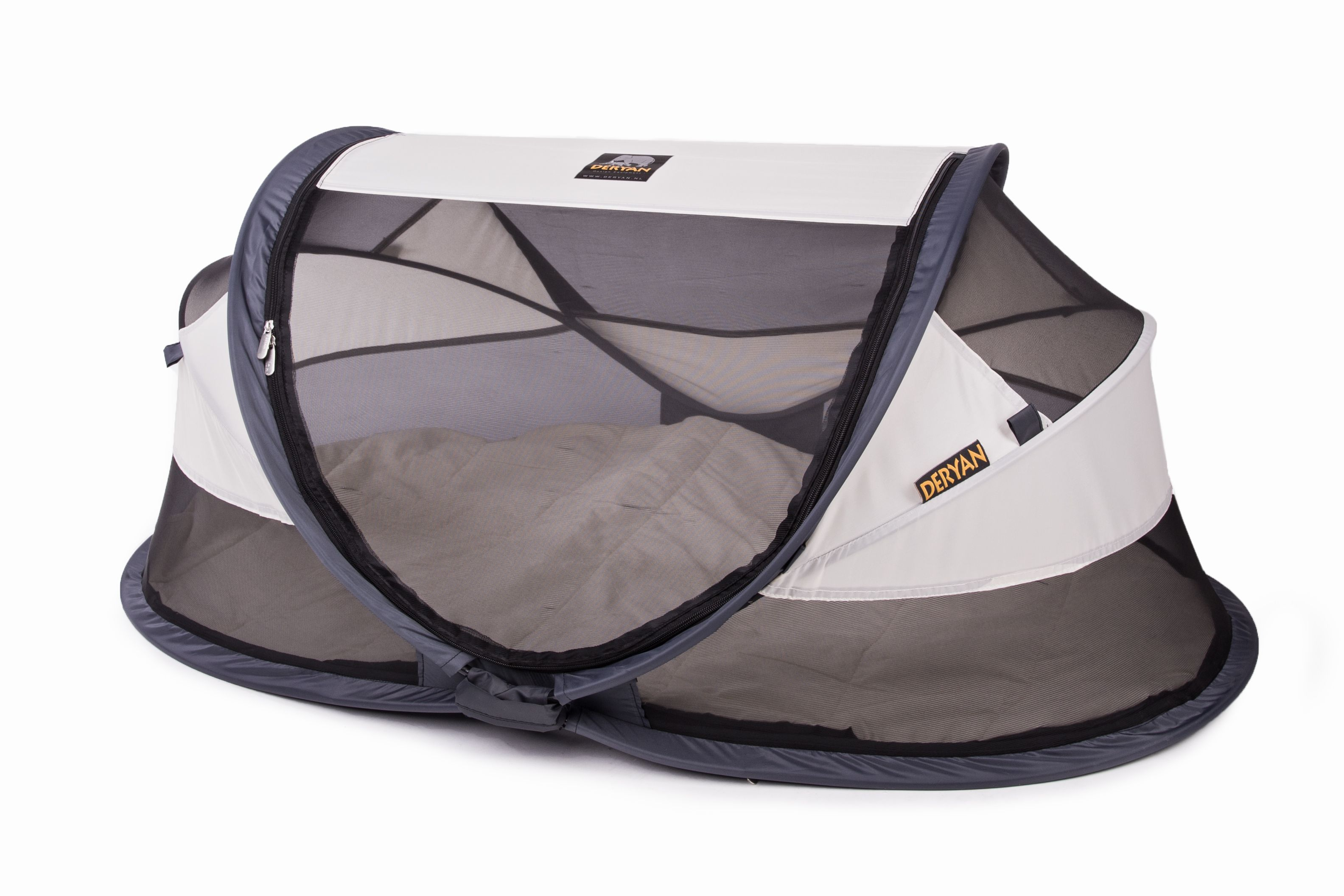 Image of Rejseseng fra Deryan - Travel Cot Baby Luxe - Cream (DETCBLCream)