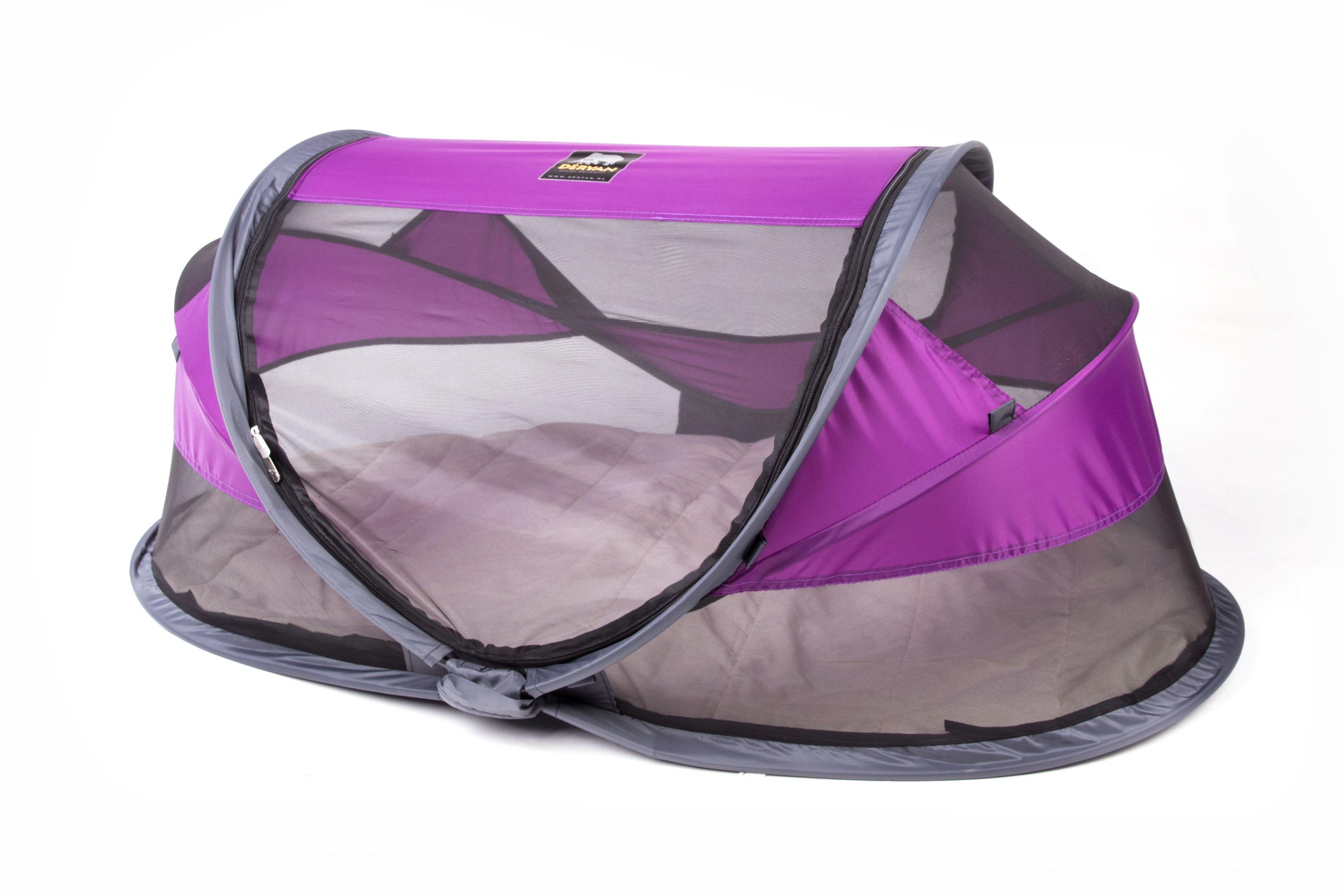 Deryan Rejseseng fra  deryan - travel cot baby luxe - purple på babygear.dk
