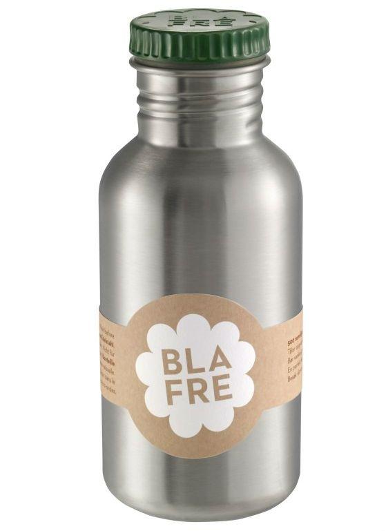 Image of   Drikkeflaske i rustfri stål fra Blafre (500 ml) - Mørkegrøn