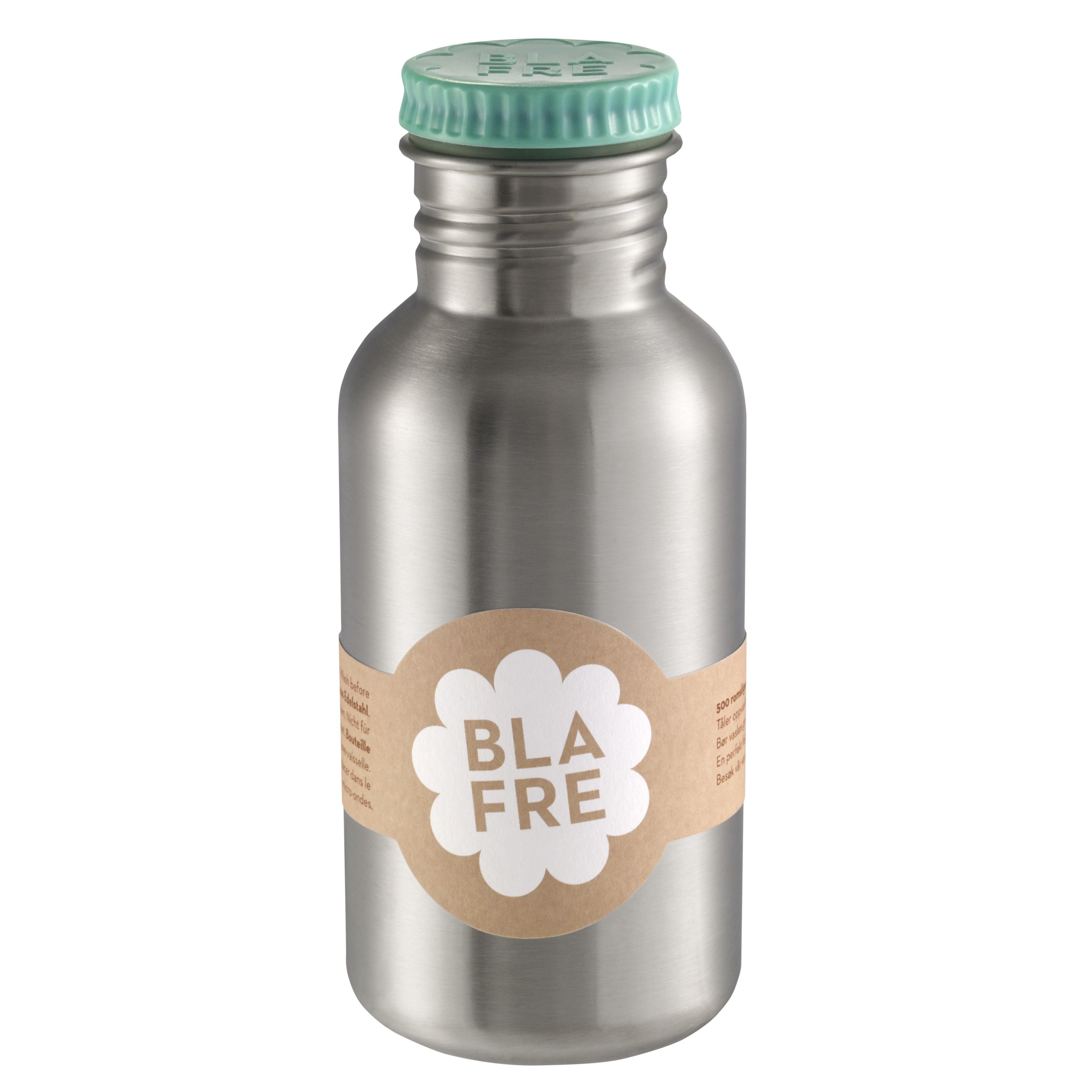 Image of   Drikkeflaske i rustfri stål fra Blafre (500 ml) - Blå grøn