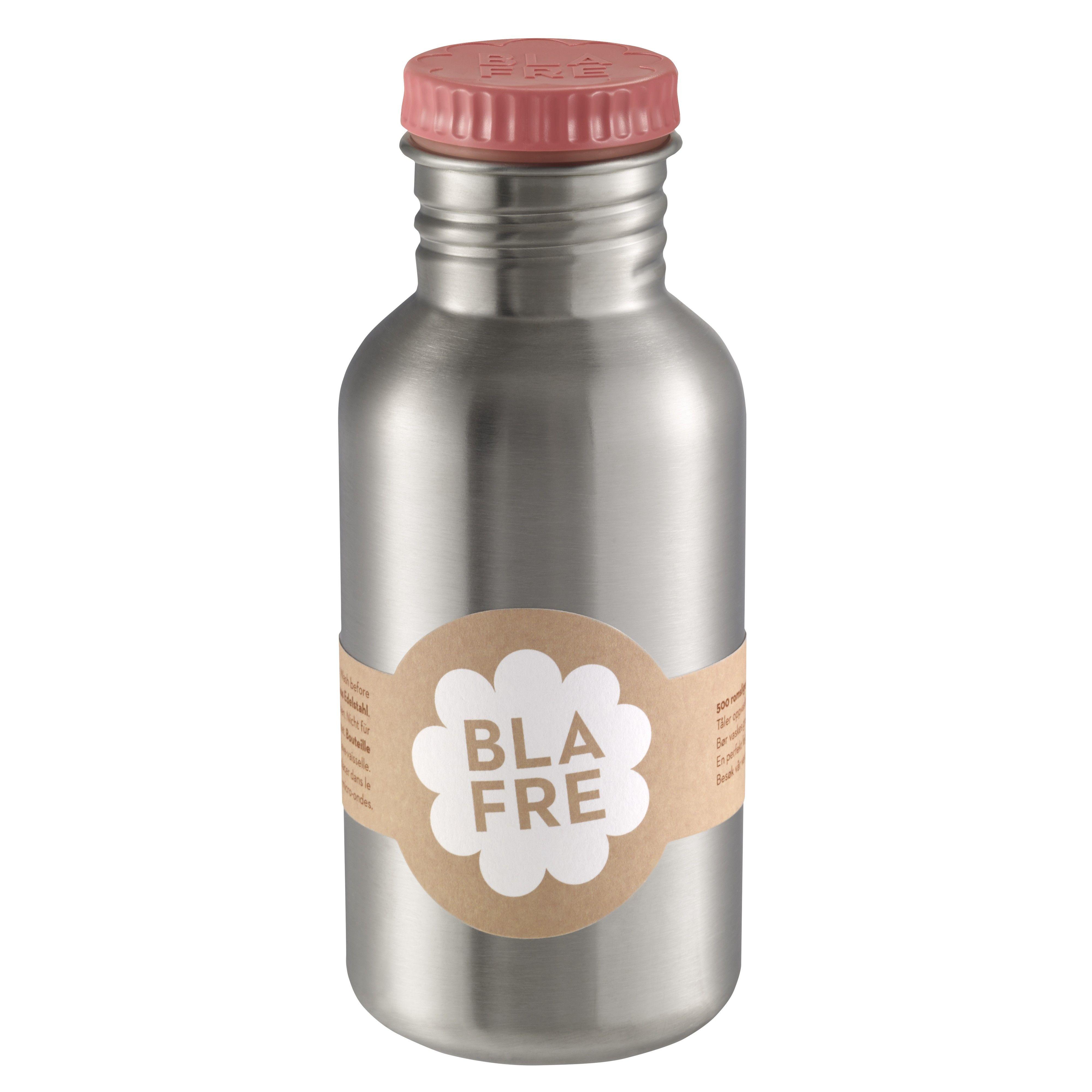 Image of Drikkeflaske i rustfri stål fra Blafre (500 ml) - Rosa (4551)