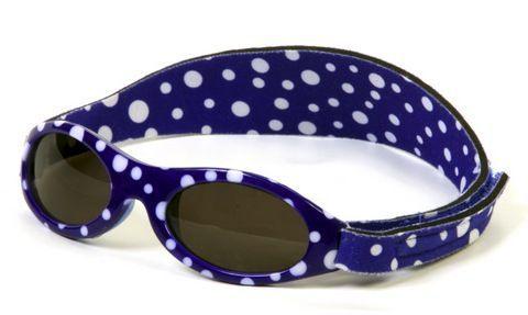 Image of   Solbriller fra Baby Banz - Blue Dot