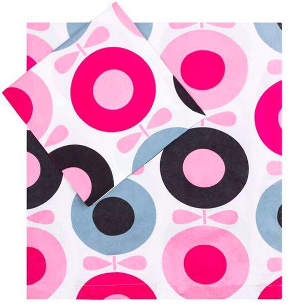 Image of   Sengetøj fra Katvig - Big Apple - Pink (Økologisk)