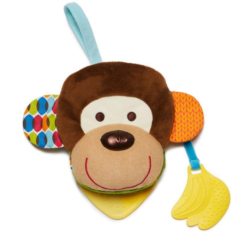 Image of   Babybog og hånddukke 2-i-1 fra Skip Hop - Abe