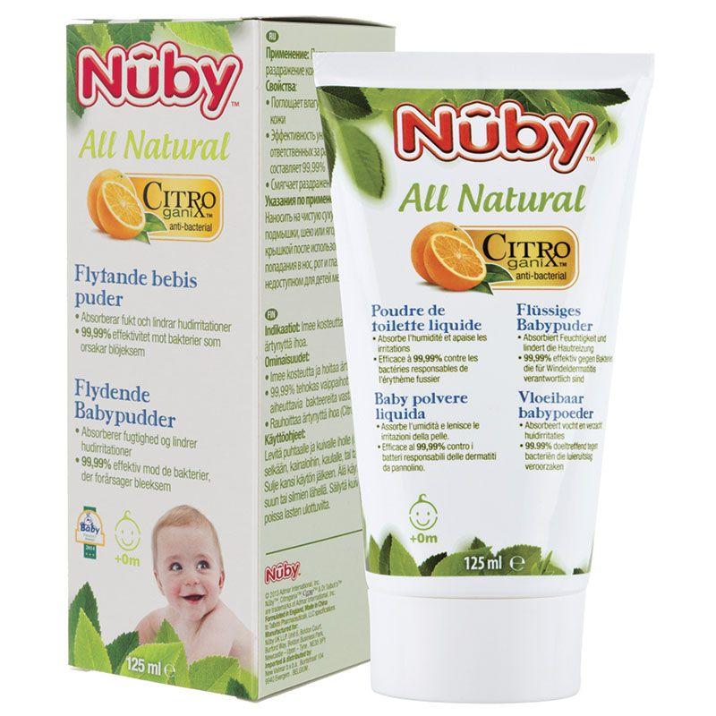 Image of Flydende babypudder fra Nuby Citroganix (5414959013717)